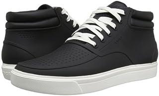 crocs(クロックス) メンズ 男性用 シューズ 靴 スニーカー 運動靴 CitiLane Roka Chukka - Black/White [並行輸入品]