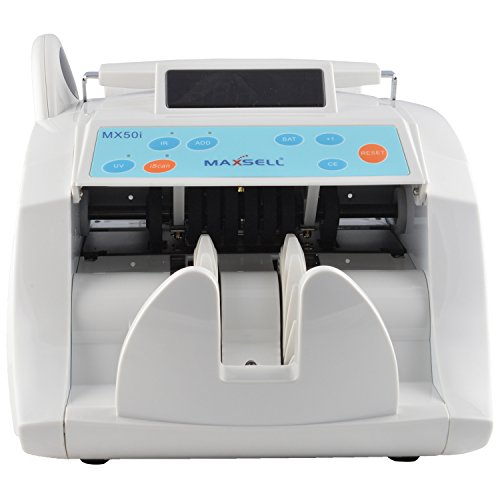 ZEXA Banker Advanced Value Counter for Currency and Counterfeit Note Detection – for Professional USE/Heavy Duty