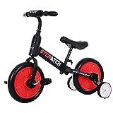 Huaji Bicicleta 4 en 1 con pedales desmontables para niños de 2 a 6 años, juguete de montar en bicicleta, regalo de cumpleaños para niño