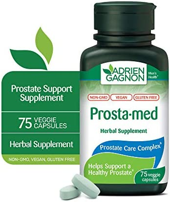 Adrien Gagnon Sante Prosta med 75 Capsules Prostate Support Supplement with Stinging Nettles product image
