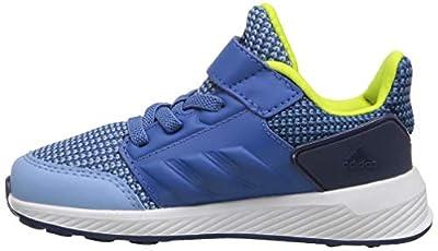 adidas Performance Boys' Rapidarun, Ash Blue/Trace Royal/Noble Indigo, 9 M US Toddler