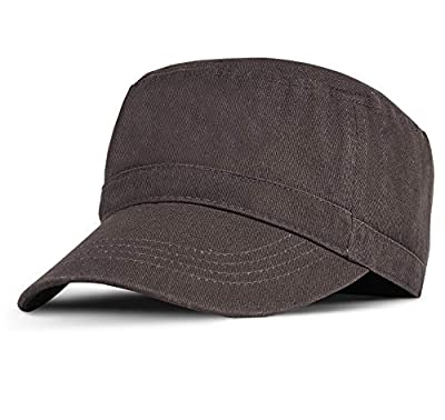 Military Cadet Cap Washed