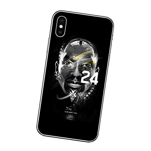 XMYP Kobe - Funda compatible con iPhone 12 Series, funda protectora para jugador de baloncesto, suave TPU antiarañazos, a prueba de golpes para iPhone 12/12 Mini/12 Pro/12 Pro Max I- 12 Pro Max