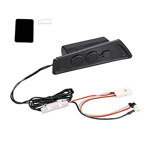 カーメイト トヨタ C-HR (ZXY10/NGX50、H28.12-)専用 増設電源ユニット 2連 シガーソケット 2 USBポート NZ571