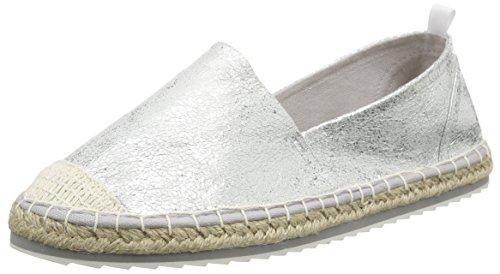 MARCO TOZZI Damen 24204 Espadrilles, Silber (Silver 941), 36