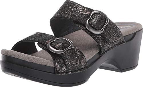 Dansko Women's Sophie Metallic Python Sandal 4.5-5 M US