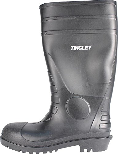 Tingley 31151 Economy SZ7 Kneed Boot for Agriculture, 15-Inch, Black