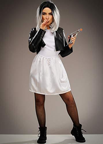 Magic Box Disfraz de Novia de Chucky de Talla pequeña para Mujer