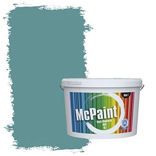 McPaint Bunte Wandfarbe Pazifik - 5 Liter - Weitere Blaue Farbtöne Erhältlich - Weitere Größen Verfügbar