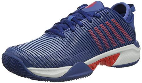 K-Swiss Performance KS Tfw Hypercourt Supreme HB-dblu biterswt, Zapatos de Tenis Hombre, Azul Oscuro/Glcrgry/Agridulce, 42.5 EU
