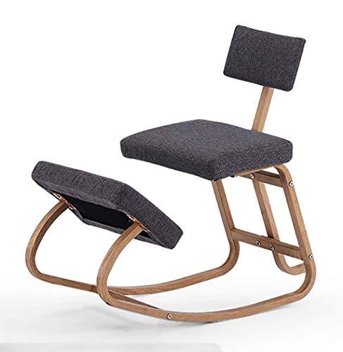 YLCJ Office Ergonomic Balance Footstool - Schaukelhocker mit Rückenstütze für eine Gute Körperhaltung für Kinder