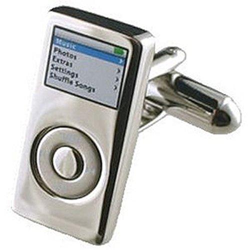 Cuff Links Ipod gemelos~MP3~Música Seleccione gemelos bolsa de regalo