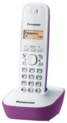 Panasonic - KX-TG1611JTF - PANASONIC CORDLESS KX-TG1611JTF BIANCO E FUCSIA