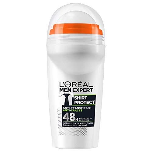 puissant Déodorant Roll On L'Oréal Men Expert Shirt Protect