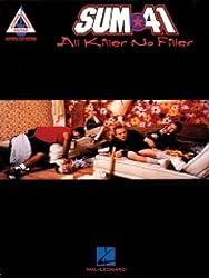 Partition : Sum 41 All Killer No Filler Guit. Tab