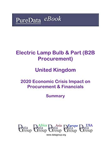 Electric Lamp Bulb & Part (B2B Procurement) United Kingdom Summary: 2020 Economic Crisis Impact on Revenues & Financials (English Edition)