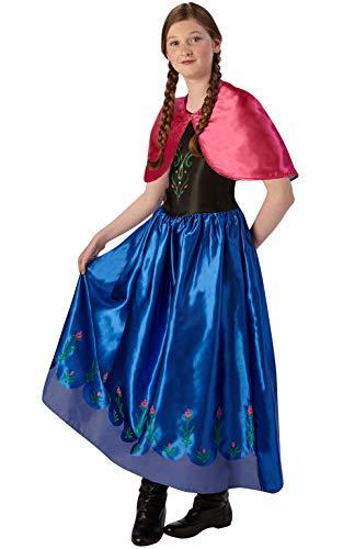 Rubis 3620978 Anna La Reine des neiges Classic – Taille Plus Grande, Action Robe UPS et Accessoires 9–10