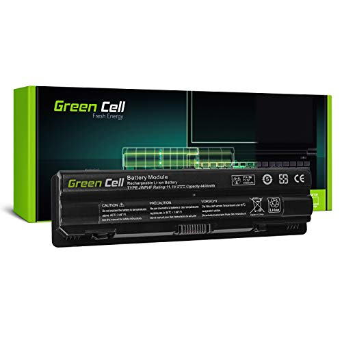 Green Cell Standard Serie JWPHF/R795X Laptop Akku für Dell XPS 15 L501x L502x 17 L701x L702x (6 Zellen 4400mAh 11.1V Schwarz)