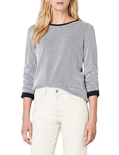 TOM TAILOR Denim Damen 25304130971 Sweatshirt, Blau (Real Navy Blue 6593), 42 (XL)