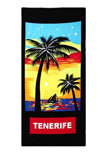 Black Temptation Deportes y Toalla Inicio Toallas de baño/Toallas de Playa/SPA Toallas -Tenerife