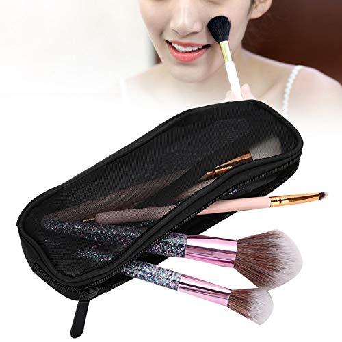 Qqmora Estuche de cosméticos para brochas de Maquillaje, Profesional para Mujeres y niñas, para brochas de Maquillaje para Almacenamiento para Uso de Maquillaje