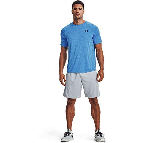Under Armour Tech 2.0 Herren-T-Shirt, kurzärmelig, Herren, kurzärmelig, Tech 2.0 Short Sleeve T-Shirt, Blau, Large