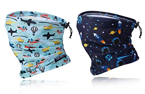 Kids Face Mask Neck Gaiter Kids Face Scarf Mask Summer Dust Bandana