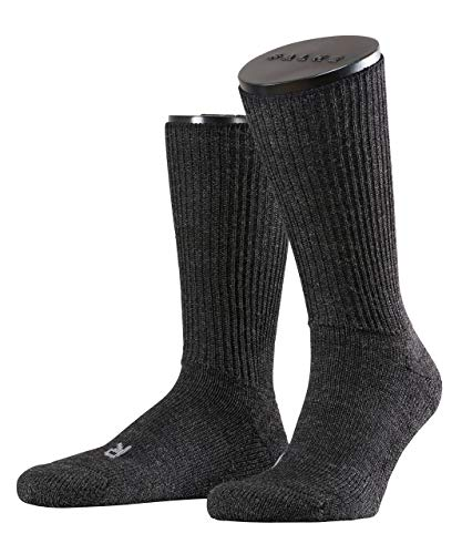 FALKE Herren Socken Walkie Ergo U SO -16480, 1 Paar, Grau (Anthracite Melange 3080), 46-48