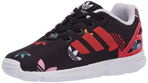 adidas Originals - Zx Flux El I Unisex-Kinder , Schwarz (Core Black/Lush Red/Ftwr White), 23 EU