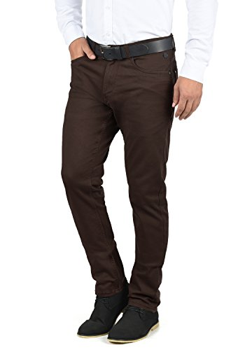 Blend Saturn Herren Chino Hose Stoffhose Aus Stretch-Material Regular Fit, Größe:W31/34, Farbe:Coffee Bean Brown (71507)