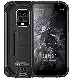 DOOGEE S59 Pro【2021】 Teléfono Resistente, Batería 10000mAh, Helio P22 Octa Core 4GB+128GB (256GB Externa SD), IP69K Móvil Antigolpes IP68, Altavoz Potente 2W, Cámara Cuatro 16MP, Dual SIM NFC Negro