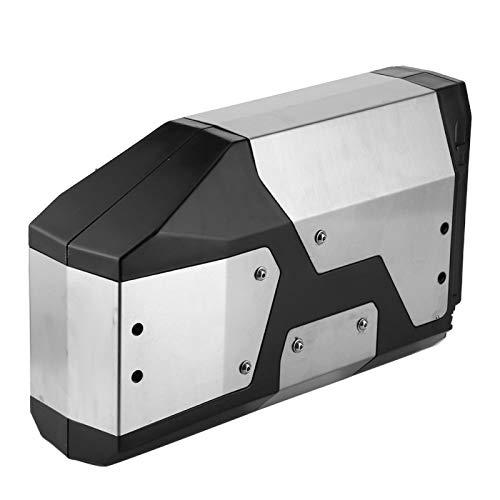 Caja de soporte Caja lateral reconocible A prueba de golpes para una conducción cómoda para una conducción relajada para ocultar los viejos arañazos para viajes de larga distancia