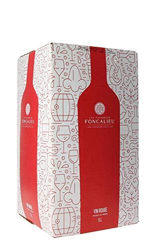 L'Ame du Sud Cubi Vin Rouge Merlot 5 L