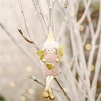 クリスマスエンジェル人形おもちゃ立っているぬいぐるみクリスマスツリーペンダント飾りクリスマスキッズギフトテーブルデコレーション
