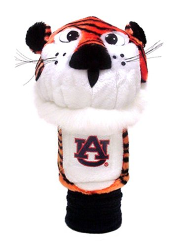 Team Golf NCAA Auburn University Tigers Mascot Golf Club Headcover, Fits most Oversized Drivers, Extra Long Sock for Shaft Protection, Officially Licensed Product,Auburn Tigers