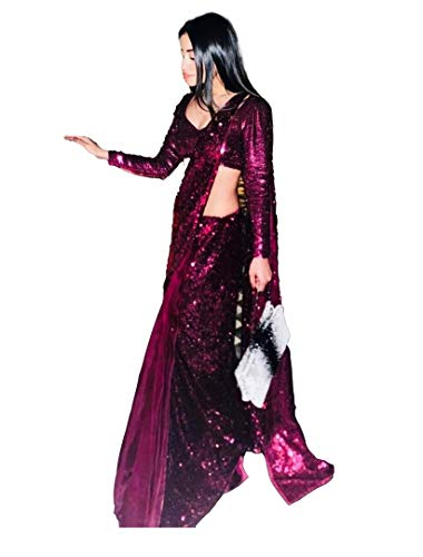 Princes Style Designer India Mujeres tnicas Tradicional Saree 596