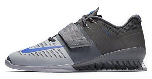 Nike 852933-001_47, Calzado Deportivo Hombre, Grey, EU
