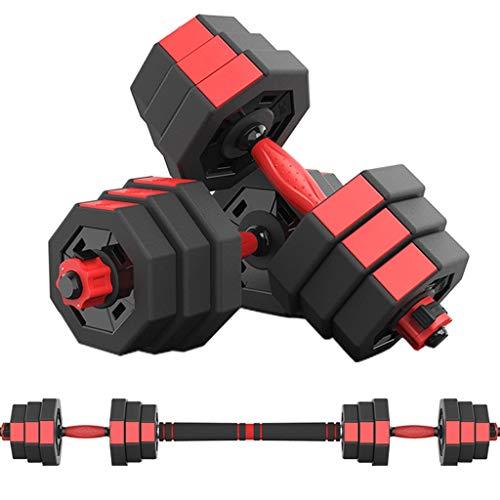 YC Hanteln Dumbbell Fitness Hanteln EIN Paar Octagon Hantel Einstellbare Gewicht Barbell Startseite Herren Fitnessgeräte Set + Pleuel Hanteln Dumbbells (Größe : 10kg)