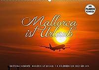 Emotionale Momente: Mallorca ist Urlaub. (Wandkalender 2022 DIN A2 quer): Mallorca ist ... ! 13 herrliche Fotos der schoensten Insel der Europaeer mit textlichen Analogien. (Geburtstagskalender, 14 Seiten )