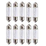 baytronic 10x Glühlampe C5W Soffitte 36mm 5W 12V