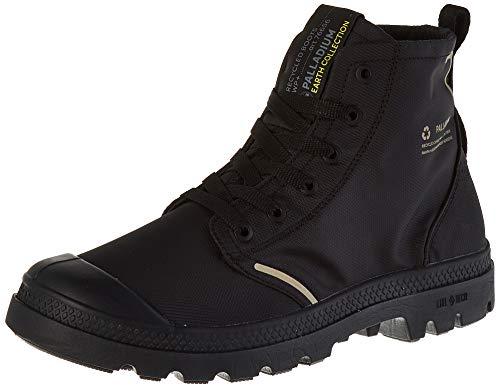 Palladium Lite+ Rc Wp+ U hoge sneakers, uniseks, zwart zwart zwart zwart 466, 47 EU