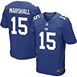 Rugby Full Sleeve Supporter Shirts, Kids Rugby Shirts Giants 15 Number Marshall, Alternate Pro Rugby Jersey-Blue-M