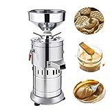 JIAN YA NA 220V Peanut Butter Maker Machine Commercial Peanut Butter Maker Sesame Butter Mill Grinding Machine 15kg/h 1100W US Stock