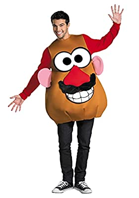 Disguise Mr./Mrs. Potato Head Deluxe Adult,Multi,XL (42-46) Costume by Disguise Costumes
