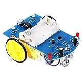 dailymall D2-1 Línea De Seguimiento Inteligente Smart Car Kit TT Motor Electronic DIY Set