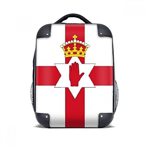 DIYthinker Nordirland Nationalflagge Europa Land Hard Case Schulter Kind-Rucksack-Geschenk 15