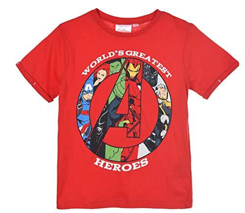 Avengers Niños Camiseta De Manga Corta