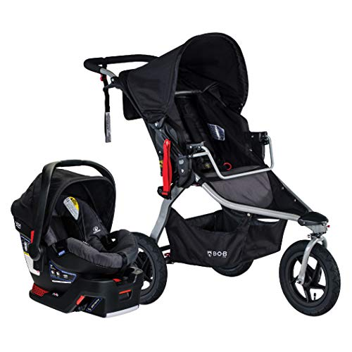 BOB Gear Rambler Jogging Stroller + Travel System with B-Safe 35 Infant Car Seat...