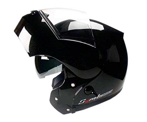 Casco Modular ZEUS HZ3000A Negro Brillo Talla XL 61-62 cm