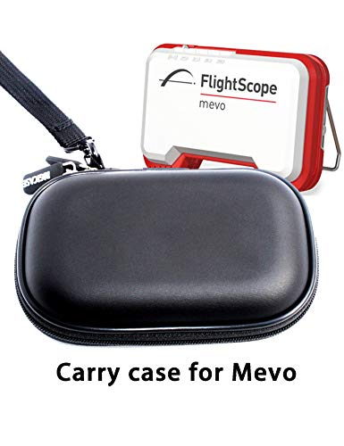 RIGICASE Hard Carry Case for FlightScope Mevo, Protective Travel case, Anti-Shock, Water-Proof, dust-Proof Storage case(Case only, no Device)